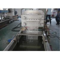 Single Screw Double Stage PE Plastic Pelletizing Machine With PLC Control System Manufactures
