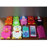 Soft silicone protective phone cover case for Iphone 4 / 5, Touch 4 / 5, Samsung I9300, Blackberry 9220 / 9320 / 8520 Manufactures