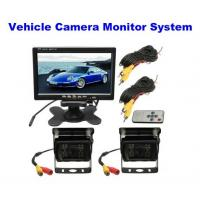 2.0 Megapixel Car Reversing Camera / Night Vision Reverse Camera With Monitor System Manufactures