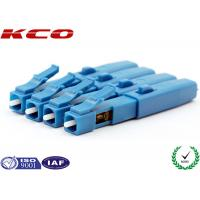 LC UPC Fiber Optic Fast Connector Pre-polished SM 9/125 FTTH Drop Cable Manufactures