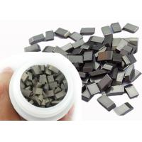 China Nickel Coating Tungsten Carbide Saw Tips Brazed On Circular Saw Blade on sale