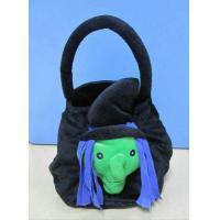 Black Halloween Plush Toys / Halloween Stuffed Animals Gift Bags 30cm Manufactures
