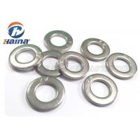 A2 A4 Stainless Steel 316 Flat Washers DIN125 DIN9021 M2 - M56 For Fastener Connection Manufactures