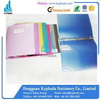 China Color tones 3 O metal ring binder on sale