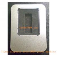 mass custom made stamped T12mm tinplate accessoriees with 1000T press machine fabrication