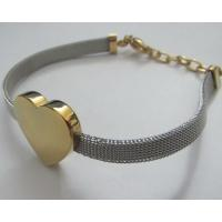 Promotional Women Jewelry Stainless Steel Bracelets with Heart Shape Manufactures
