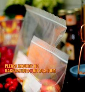 Recloseable ziplock PE bags/ LDPE material Medicine zipper bag/ clear PE pouch, Heavy duty LDPE double-track zipper pac Manufactures