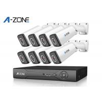White Case 8CH AHD CCTV Kit  Dvr Full Hd Cctv Kit H.264 Home Security Manufactures