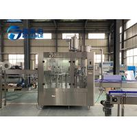 3 In 1 Full Automatic Bottle Water Washing Filling Capping Machine For Fresh Fruit Juice Manufactures