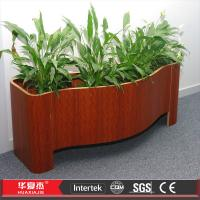 Waterproof Wpc Flower Boxes , Pvc Composite Bed Flower Box UV protect Manufactures