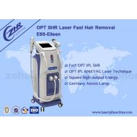 Hottest IPL Elight ND Yag Multi Function Beauty Equipment Hair Removal / Tattoo Removal Manufactures