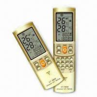 Universal A/C Remote Controls with LCD Background Light and Golden Appearance Manufactures