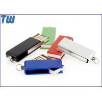 Tiny Swivel Thumb Drives 16GB 32GB with Free Key Chain and Free Logo Printing for sale