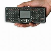 China 2.4GHz Wireless Keyboard with Dpi Adjustable Function and 3.3V Working Voltage on sale
