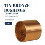 Tin Bronze DIN CuSn8 Sleeve Bushings E90 E90F PRM PRMF BMZ FB090 Diamond Hole Type Manufactures
