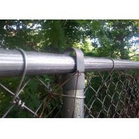 China chain link/cyclone mesh fence manufacturer on sale