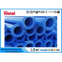 Hot Rolled Epoxy Lined Carbon Steel Pipe , Plastic Coated 12 Inch Sch 40 Pipe Manufactures