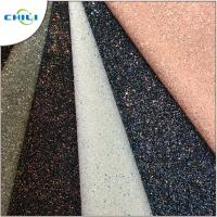 Grade 3 Glitter Leather Fabric Style Mixed Attractive High Brightness Manufactures