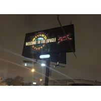 Quality AC100~240V Outdoor Advertising LED Display Wall For Highways P5.95 SMD2727 for sale