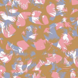 China Flower Pvc Coated Nylon Fabric , Neoprene Coated Nylon Fabric on sale