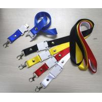 LED Flash Nylon Lanyard Manufactures