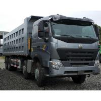 HOWO A7 336 HP Heavy Duty Dump Truck 8×4 A7-W Driving Cab And HW19710 Transmission Manufactures