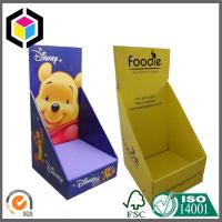 Strong Quality Glossy Color Custom Print Corrugated Cardboard Display Stand Box Manufactures