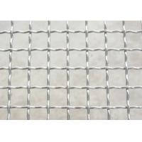 China Mild Steel Zinc Barbecue SS304 Crimped Wire Mesh , Chrome Plated Wire Mesh on sale
