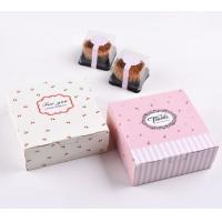 Quality Cupcake / Dessert Paper Food Packaging Box , Personalized Food Gift Boxes for sale