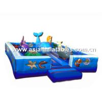 China Outdoor Inflatable Playground, Inflatable Amusement Park Games For Sale on sale