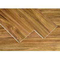 China Plastic Interlocking Bathroom Room Floor Tile Wood Looking SPC Flooring on sale