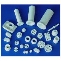 Eco-friendly White / Red High Frequency Industrial Steatite Ceramic Insulators Parts Manufactures