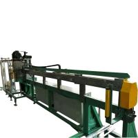 Straight Wire Ss Pipe Cutting Machine With Bending Peeling Functions Manufactures