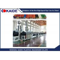 Micro - Duct Pipe Production Plastic Pipe Extrusion Machine Long Life Time Manufactures