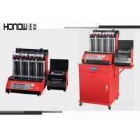Automotive Ultrasonic Fuel Injector Tester And Cleaner 8 Cylinders Adjustable Time Manufactures