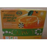 Curvy Slimming orange Juice Drink To Reduce Appetite, Increase Metabolism , China weight loss Juice Manufactures