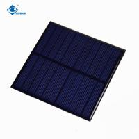 1W Epoxy Solar Panel For Small solar charge controller ZW-8484 Environmental Friendly 5V solar panel charger