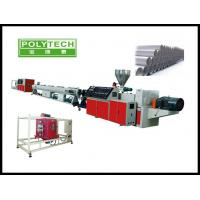 China Single screw extruder for plastic pe drip irrigation pipe making machine/production on sale