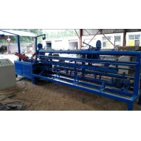 Easy Operate Chain Link Fence Machine / Wire Mesh Weaving Machine For Highway Manufactures