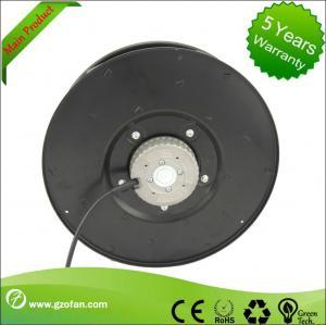 Industrial EC Motor Fan , Centrifugal HVAC Fans Cooler 310 mm Diameter Manufactures