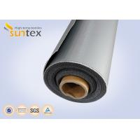 Medium Weight Silicon High Temperature Fiberglass Cloth For Shipping Building