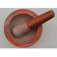 Quality Food Grade Granite Small Mortar And Pestle Fancy Custom Durable Kitchen Tool for sale