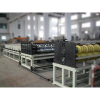 Plastic Transparent PVC Roof Sheet Machine , Corrugated Rool Forming Machine Manufactures