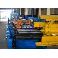 Steel Plate 350MM C Z Purlin Roll Forming Machine 195 Mpa - 350 Mpa Work Pressure Manufactures