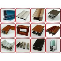 Powder Coated Surface Aluminium Door Profiles With 1.2mm Thickness 6 Meters Length Manufactures