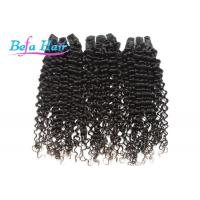 """Beauty 20"""" Spiral Curl Indian Virgin Human Hair Bright Red / Natural Black Hair Extensions Manufactures"""