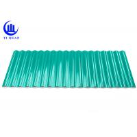 Impact Resistant Plastic Roof Tiles A-PVC Corrugated Roofing Sheets Factory Cover Manufactures
