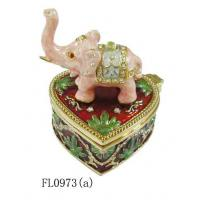 Alloy Elephant Jewelry Box Small Jewelry Box Manufactures