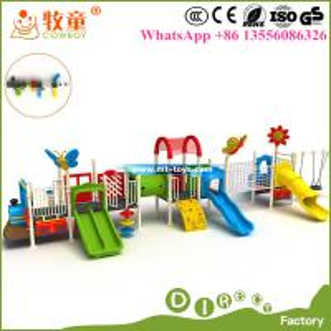China Kids Outdoor Plastic Playground, Plastic Playground Equipment Outdoor on sale