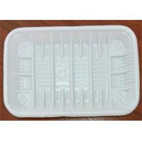 PP Foam Disposable Food Trays , Food Grade Plastic Trays For Food Packaging Manufactures